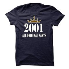 Cool #TeeFor2001 I Was Born in 2001,… - 2001 Awesome Shirt - (*_*)