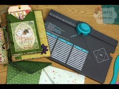 How to use Envelope Punch Board by We R Memory Keepers- VIDEO TUTORIAL http://youtu.be/ryUOeHphEj8