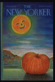 The New Yorker Magazine Cover ~ November, 1975