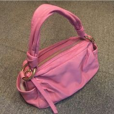 *ONE DAY FLASH SALE*COACH  purse EUC,PINK,this bag is in excellent condition has a few pen marks on inside nothing crazy,totally worth the price. Coach Bags Shoulder Bags