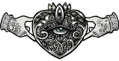 Image result for claddagh sacred heart