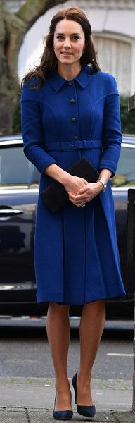 Kate Middleton - Catherine, Duchess of Cambridge leaves after a visit to the Anna Freud Centre on January 11, 2017 in London