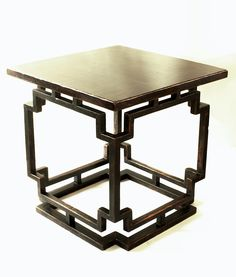 """Antique Classical Chinese Black over Red Lacquer Square eight-immortals Table with intricate joint construction and beautiful proportions. Table size: 80cmx80cmx80cm (31.5""""x31.5""""x31.5""""). In the construction, there is a visually hardly noticeable size difference of the frame members: the four vertical ones are 3.5 cm square, but the upper and lower horizontal frame members are 3 cm square. Lacquer surface is crackled and has original old wear."""