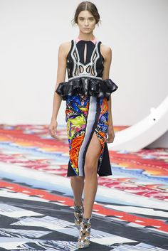 Peter Pilotto Spring 2013 Ready-to-Wear Collection Slideshow on Style.com