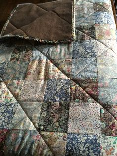 Liberty quilt for Charlotte
