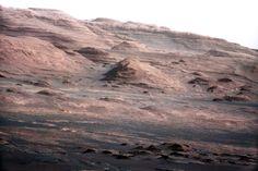 El monte Sharp en Marte. Destino del Curiosity