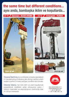 9 Best OMS Pile Driving Equipment GmbH  images in 2018 | Pile driver
