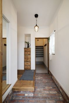 Natural Interior, Japanese Interior, Entrance Hall, Hallway Decorating, Smart Home, Decoration, My House, House Plans, Entryway