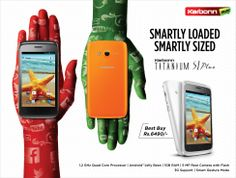 SMARTLY LOADED SMARTLY SIZED  KARBONN TITANIUM S1 Plus
