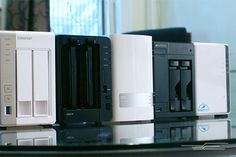 Group of network attached storage devices