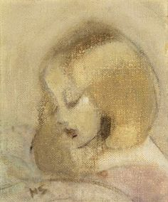 Annuli Reading, 1923 ,by Helene Schjerfbeck Helene Schjerfbeck, Art Database, Art Plastique, Painting Inspiration, Painting & Drawing, Art History, Photo Art, Oil On Canvas, Illustration Art