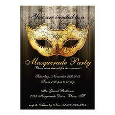 Masquerade Invitation Template – Invitation Templates 2013 - 2014