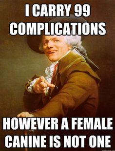 Joseph Ducreux Meme - 99 Problems