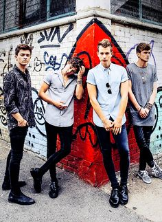 The Vamps❤️ my lord they're hot!