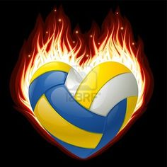 My heart burns for volleyball!
