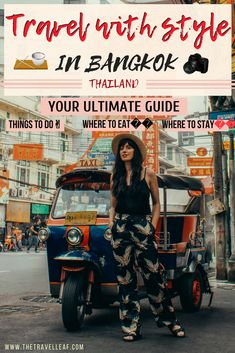 Travel with style in Bangkok Thailand: Your Ultimate Guide. Discover stylish things to do in Bangkok - surfing, Bangkok nightlife, places to eat in Bangkok, street food markets, best hotels where to stay in Bangkok, skyline views. #Thailand #bangkok