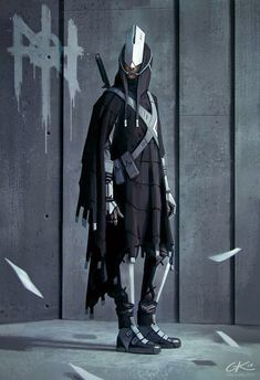 artissimo: aeontology vigilante by gilles ketting Sparrow Volume Jim Mahfood Character Concept, Character Art, Concept Art, Science Fiction, Arte Ninja, Cyberpunk Art, Cyberpunk Clothes, Sci Fi Characters, Shadowrun