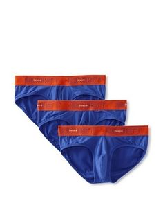 40% OFF 2(X)IST Men's No Show Brief- 3 Pack (True Blue)