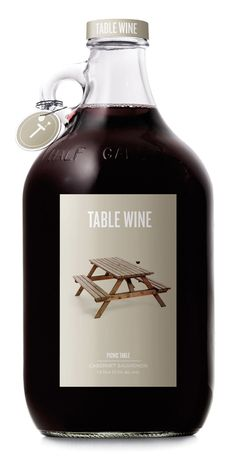 table wine / wine / bottle / label / packaging / design / inspiration