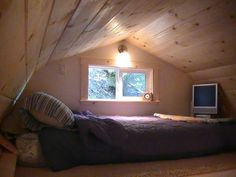 Interior Barn Loft Finished by TUFF SHED Storage Buildings & Garages, via Flickr