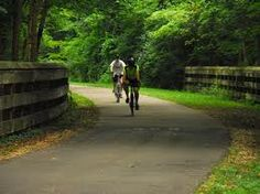 The Little Miami Scenic Bike Trail -- one of my favorite places in the world!