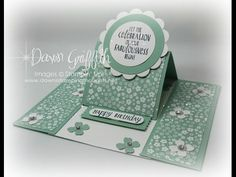 Dawns Stamping Studio: Center Panel Easel card video