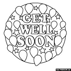 find this pin and more on coloring pages printables check our free printable get well - Free Printable Get Well Cards For Kids To Color