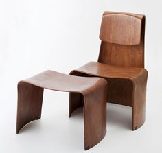 Teresa Kruszewska, Child's table and chair, 1966, Collections of the National Museum in Warsaw