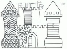 Home Decorating Style 2020 for Coloriage Magique Maternelle, you can see Coloriage Magique Maternelle and more pictures for Home Interior Designing 2020 at Coloriage Kids. Castles Topic, Chateau Moyen Age, Castle Crafts, 4th Grade Art, Grande Section, Château Fort, Halloween Painting, Cool Art Projects, Fine Motor