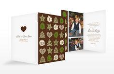 """Weihnachtskarte """"Adventszeit"""""""