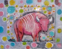 Pink Buffalo Love high gloss resin finish tammy hudgeon