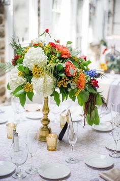 Pennsylvania Wedding: A Fresh Bohemian Affair - MODwedding