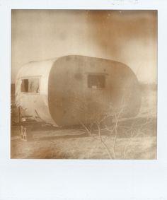 vintage trailer / polaroid