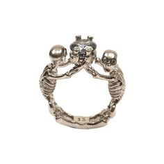 Twin Skeleton Jewel Ring Alexander McQueen | Ring | Jewelry |