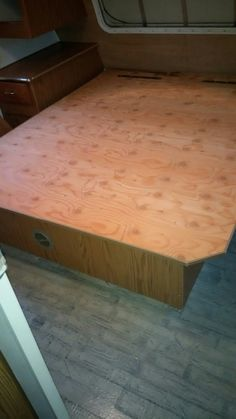 Bed platform assembled again