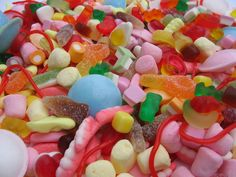 Pick and Mix. WHOOP WHOOP!...............Yes, we did eat most of this after photographing it ;)