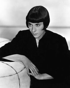 Edith Head...anyone know what year this photo was taken?  Must be a very early photo...