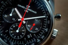 The Girard-Perregaux three-counter-chronographs are among the most sought-after timepieces because of their style, quality, and market value. Models like the Montecarlo 1973 with