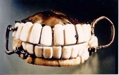 George Washington Dentures taken from slaves
