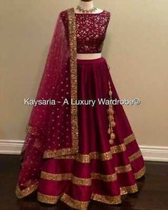 Best 10 Blue Colour Taffeta Silk Fabric Party Wear Lehenga Choli Comes with matching blouse. This Lehenga Choli Is crafted with Embroidery This Lehenga Choli Comes with Unstitched Blouse Which Can Be Stitched… – SkillOfKing. Indian Gowns Dresses, Indian Fashion Dresses, Dress Indian Style, Indian Designer Outfits, Pakistani Dresses, Indian Designers, Fashion Outfits, Indian Bridal Lehenga, Indian Bridal Outfits