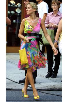 Happy Birthday, Carrie Bradshaw! See Her Best Looks - HarpersBAZAAR.com