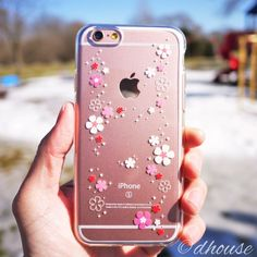 MADE IN JAPAN Soft Clear Case Cherry Blossoms for iPhone 6 & iPhone 6s