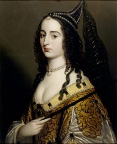 Elizabeth, Princess Palatine, eldest daughter of Elizabeth of Bohemia, by studio of Gerard van Honthorst (Ashdown House - Ashbury, Oxfordshire UK)
