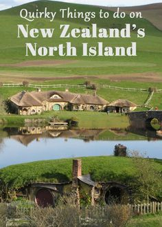 North Island New Zealand Itinerary Quirky Things to Do on New Zealand's North Island -- I've always wanted to visit Hobbiton since I love Lord of the Rings. New Zealand Itinerary, New Zealand Travel Guide, Brisbane, Sydney, Places To Travel, Places To Visit, North Island New Zealand, New Zealand Adventure, New Zealand Holidays