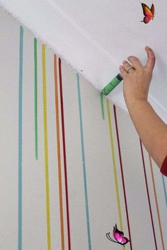 34 Cool Ways to Paint Walls,  #Cool #paint #paintedwalltechniques #walls #Ways 34 Cool Ways to Paint Walls,  #Cool #paint #paintedwalltechniques #walls #Ways<br> Diy Wand, Easy Diy Room Decor, Room Decor Bedroom, Cozy Bedroom, Bedroom Colors, Bedroom Kids, Room Paint, Paint Walls, Chalk Paint