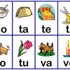 Students can practice reading the syllables in spanish with this Bingo /Loteria game.  Easy to use for children of all ages since a picture is incl...