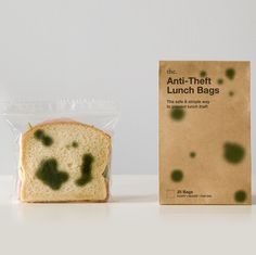Anti-Theft Sandwich Bags ... for the bully in your life. Haha, this is great.