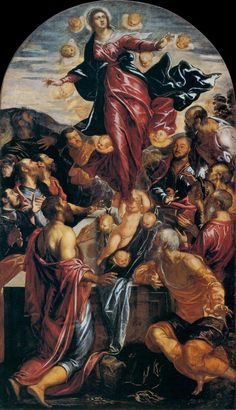 Tintoretto - Assumption of the Virgin