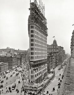 Flatiron Building @ Manhattan, New York, 1902