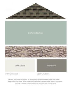 Image result for best house color to go with dark brown roof